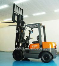 6 ton diesel forklift truck with 3 stage mast, lift height 6 meters, side shift