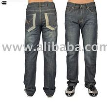 Hot brand men's fashion denim jeans black,accept paypal