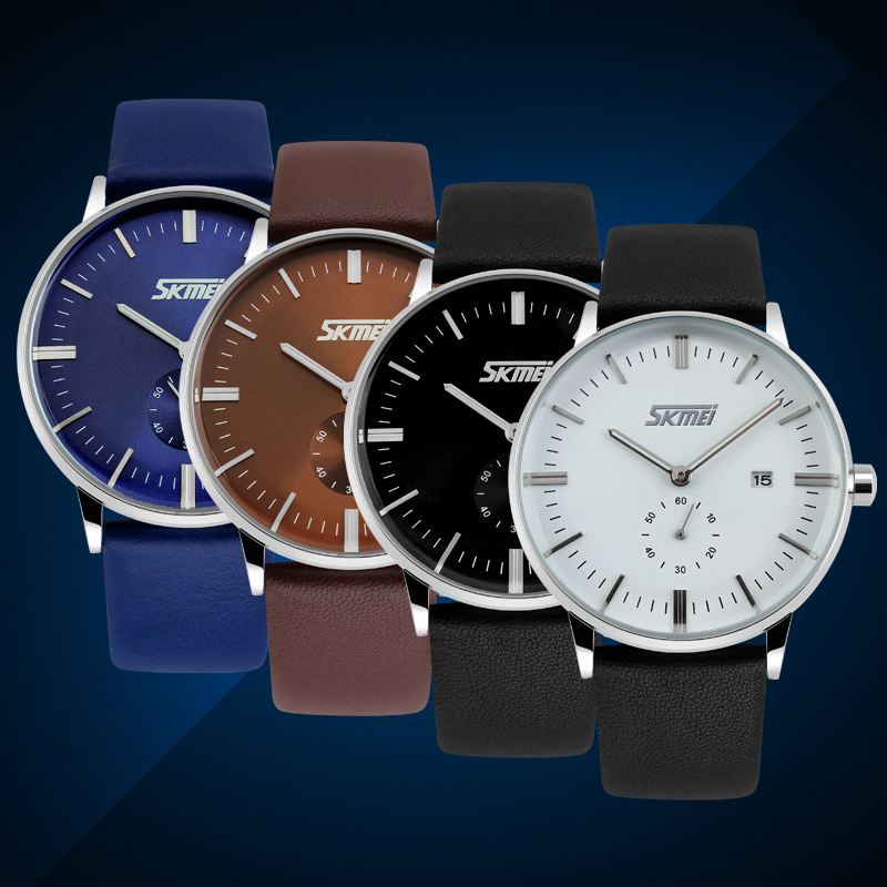 leather western wrist watches simple watch men online shopping fashion watches