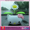 cute Hellokitty car toy, lovely figurine toys for ornaments