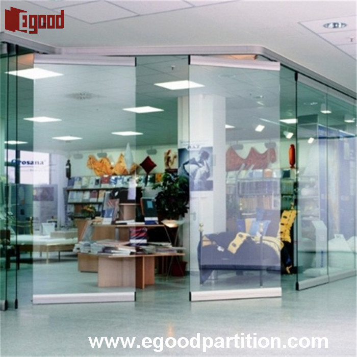 Room Divider Glass Operable Partition Door