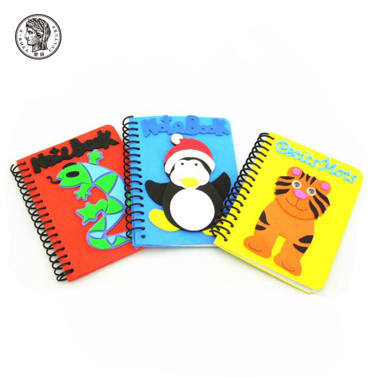 Customized Personalized Cute Mini Spiral Children Pocket Spiral Notebook for kids