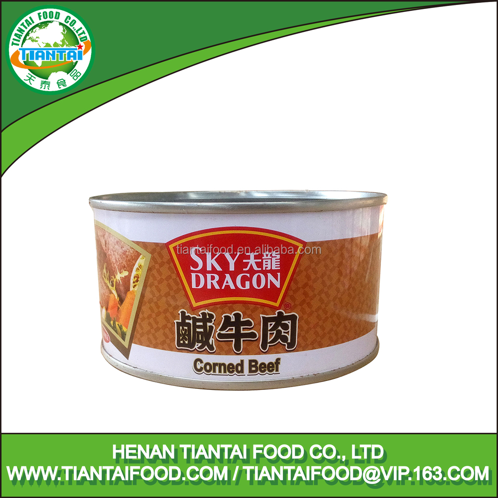 easy to match breakfast high nutritious halal beef canned corned beef