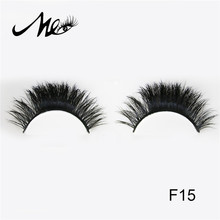 Hot sale natural private label mink hair false eyelash with 5mm to 15mm length