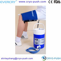 flexible medical body therapeutic ice pack for knee strain treatment