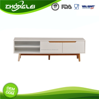 Nice Quality Classic Design BSCI Approved Factory Factory Direct Price Modern Design Tv Stand Suit For Lcd/Plasma Tvs