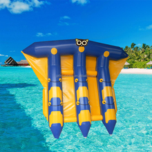 inflatable flying manta ray / 3.69m Width Inflatable Towable Fly Fish For Commercial Use