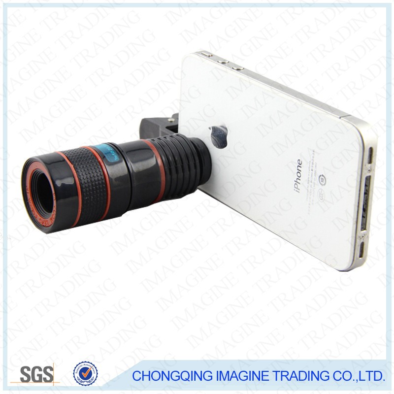 IMAGINE IP1 long-way promotional gift OEM monocular telescope for mobile phone camera