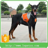 manufacturer wholesale Portable padded Outdoor travel durable dog saddle bags
