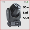 Small degrees dmx512 moving head led 90w