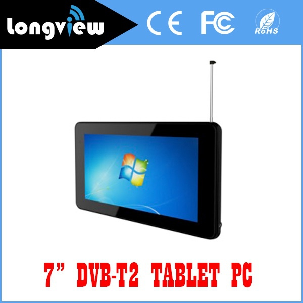 "New wifi dvb-t2 android tablet pc with android 4.4 7"" quad core from factory promotion"
