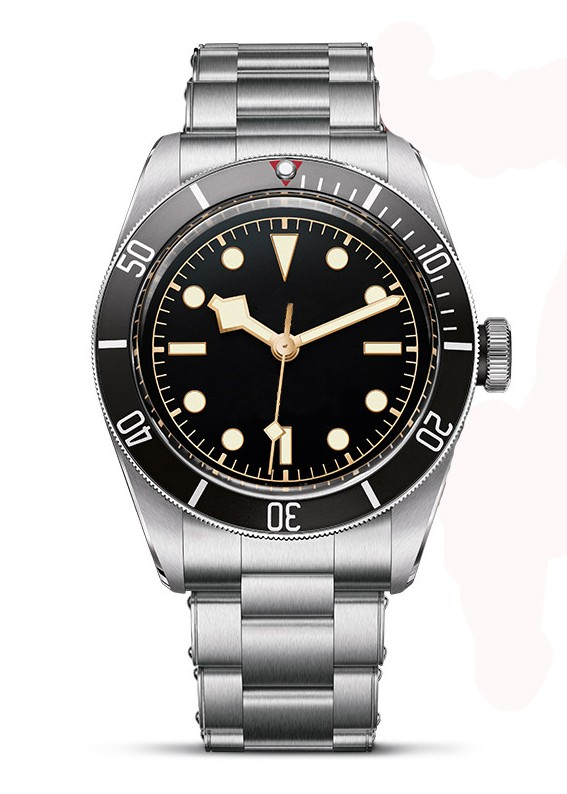 Supply 316L stainless steel 10atm water resistant diver watch automatic