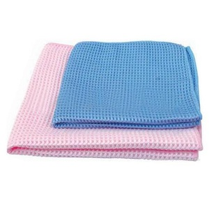 Superior Waffle Weave Microfiber Towels for car/China wholesale microfiber towel for car cleaning