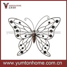 Classic metal wall wire butterfly