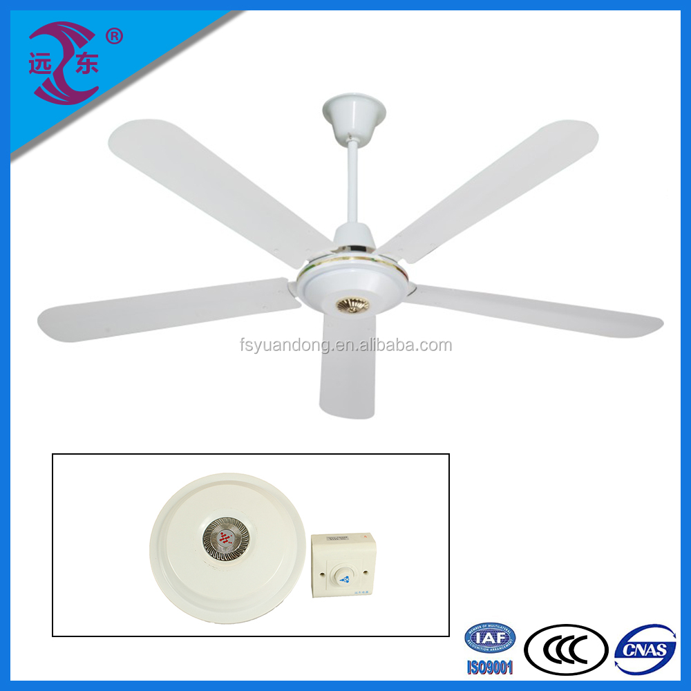 Fashionable fashionable design matt silver branded ceiling fan