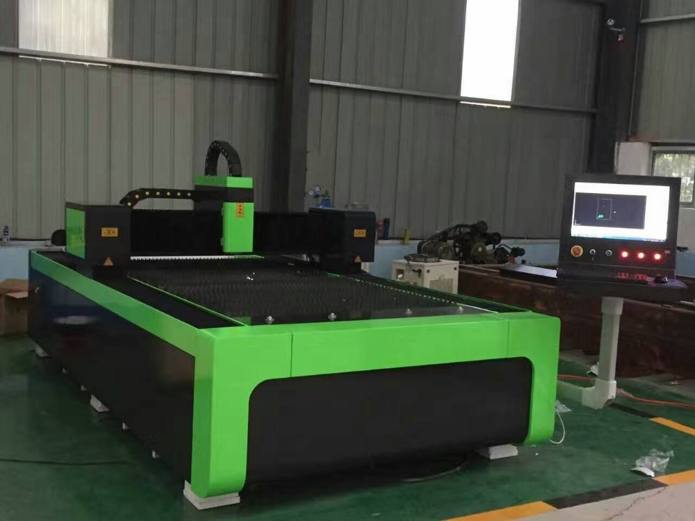 NICE-CUT Fiber laser metal cutting machine 3015 4015 CE SGS FDA