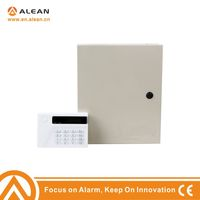 Metal Box Wired PSTN 16 Zones Alarm Control Panel compatible with Honeywell paradox detectors