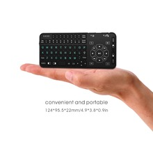 Hot 2.4G mini keyboard rt504 multimedia gaming keyboard touchpad wireless Keyboard