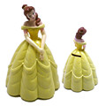 ICTI certificated custom made vinyl princess doll shape coin bank