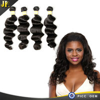 2015 JP real virgin tangle free preruvian hair soft and free hair products