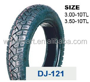 wholesale DJ high quality motorcycle tires 3.50-10
