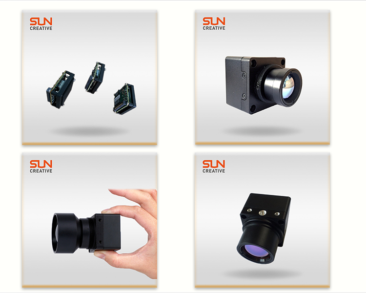 M700 long distance mini size night vision thermal imaging camera core with no shutter technology