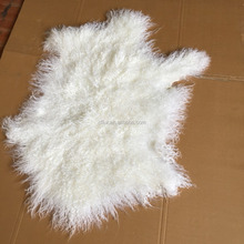 Long hair Mongolian/Tibet lamb skin