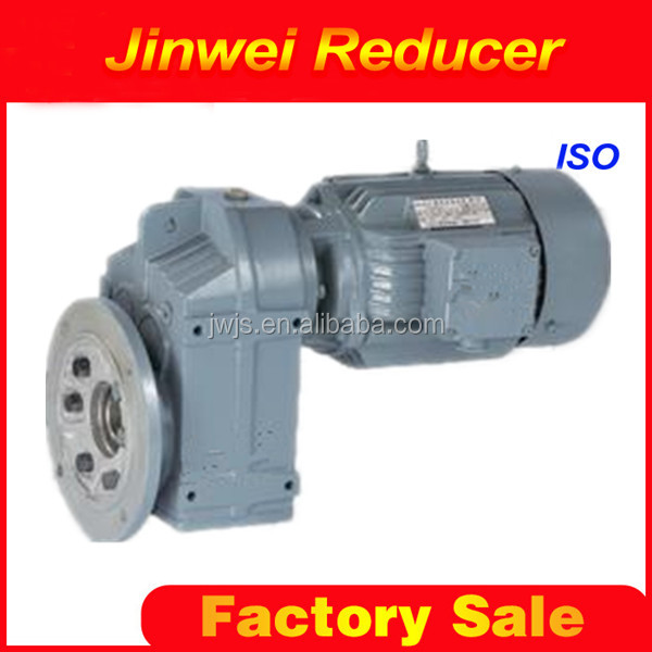 FAZY47 parallel shaft helical 90 degree angle gearbox