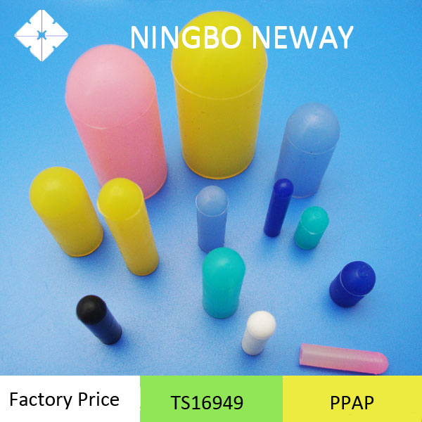 Molded custom silicone rubber sleeve
