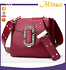 MiNuo Popular PU leather Women Hand bags