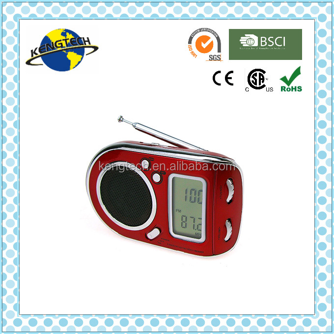 travelling portable multiband radio