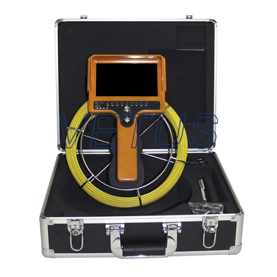 710D-SCJ Handheld video pipe inspection camera with DVR function