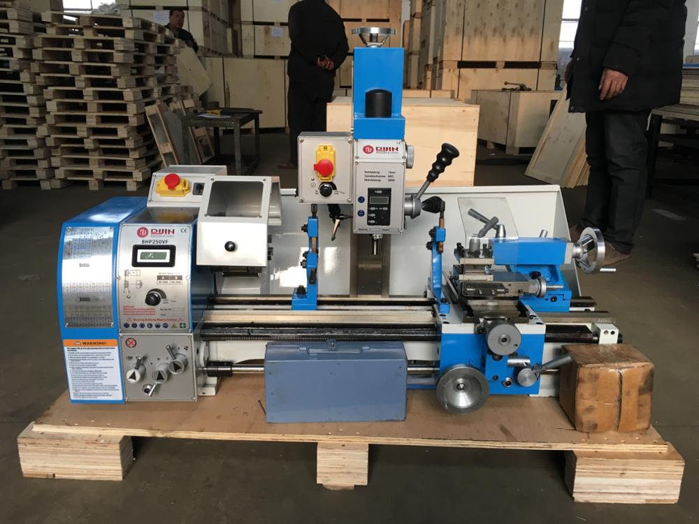 small combo lathe bhp250vf mini bench lathe auto feed