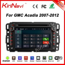 "Kirinavi WC-GU7036 android 5.1 7"" car navigation system for GMC acadia 2008-2011 android car dvd radio player WIFI 3G 1080P"
