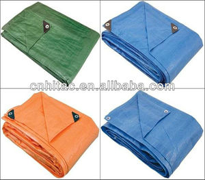 Customized Color and Size Good Quality PE/HDPE tarpaulin for cover