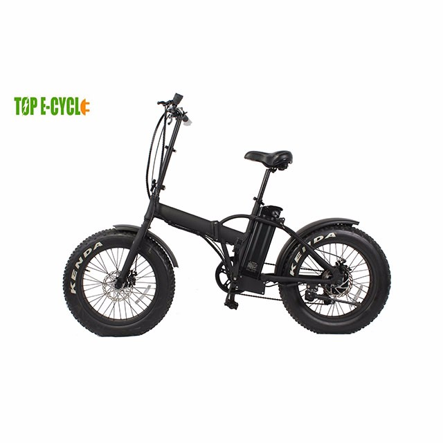 Cost-effective 20'' electric beach cruiser fat tyre snow bike