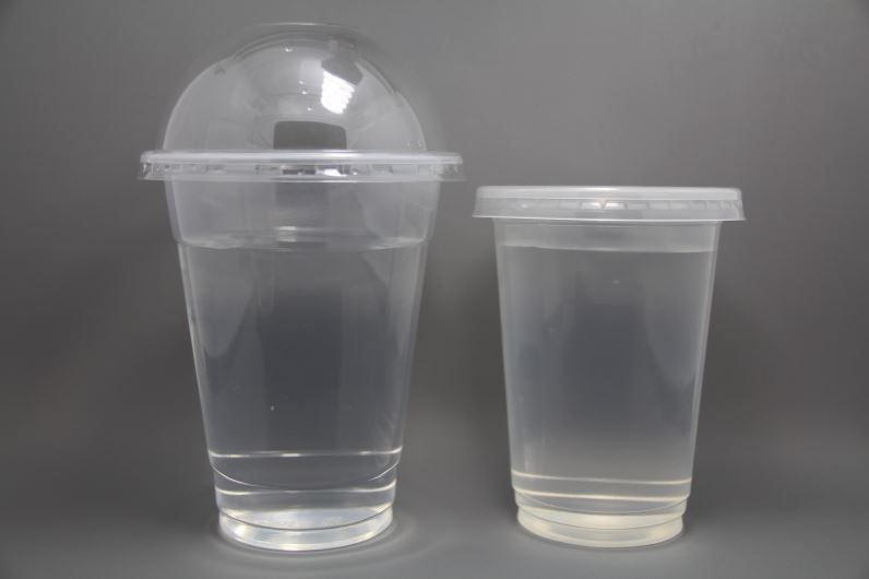2016 China cleared plastic cup