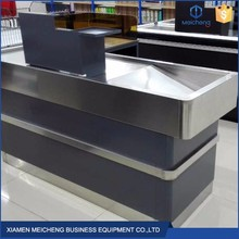 Put at home bar counter design retail convenience double checkout counters