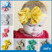 Wholesale new fashion baby girl hair bands and bows