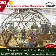 Hot Sale Aluminum Roof Frame Prefab Fiberglass Dome For House Living