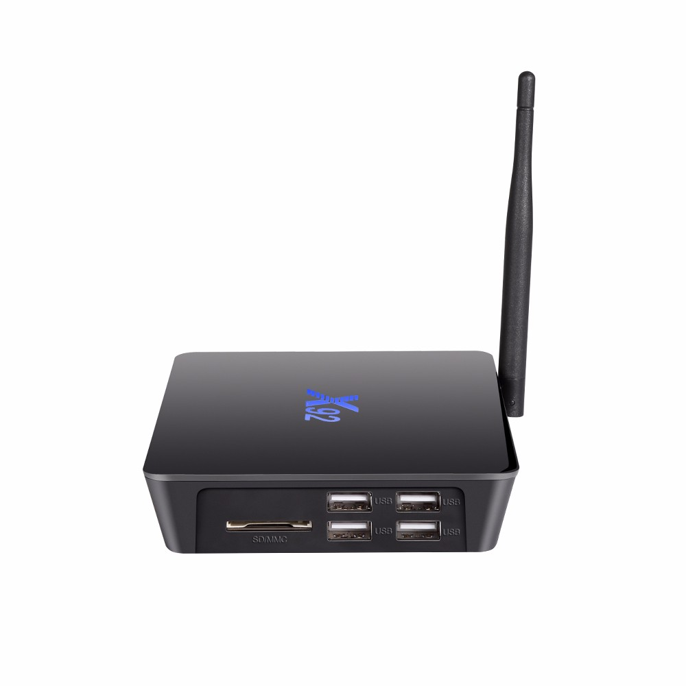 X92 TV Box Amlogic S912 Octa-core 2.4GHz / 5.8GHz WiFi with USB 2.0 AV LAN SD Card Slot