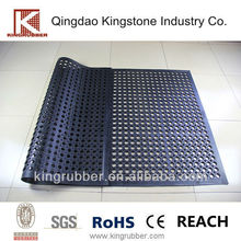 commercial rubber matting used in workstation mat with honey comb