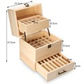3 Tier Stores 59 Wooden Box Organizer Essential Oil Aromatherapy Container