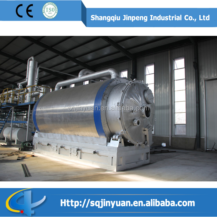 2015 Advanced Technology waste plastic recycling to fuel oil machine with CE&SGS