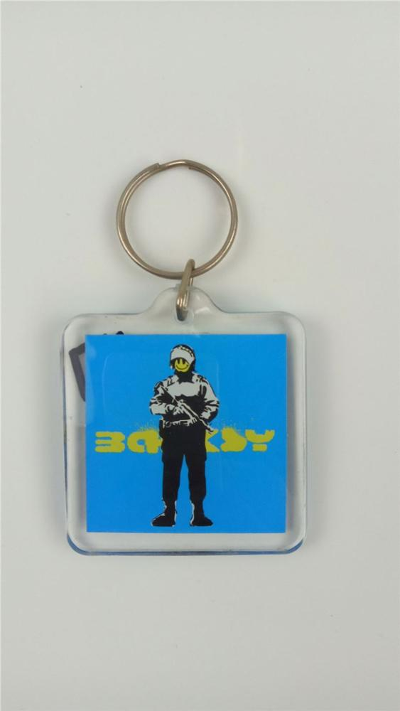 Newest sale trendy style motorcycle shaped keychain in many style