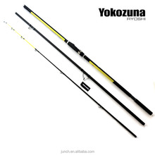 SR005 YOKOZUNA RYOSHI 4.2m 3 Section CW 100-200g High carbon Fishing surf rod Hybrid tip and Beach surf casting fishing rods
