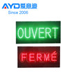 2015 High Selling Acrylic Sign Outdoor Programmable Scrolling LED Open Sign