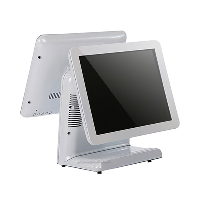 15.6 Inch with 11.6 Inch Dual Screen Linux Prolin OS Touch Screen Pos Terminal