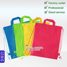 Factory Direct Eco Friendly Cheap Small Reusable Custom Drawstring Bags