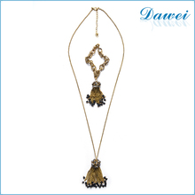 Fashion Simple Beads Tassel Necklaces Long Pendant Necklaces With Bracelet